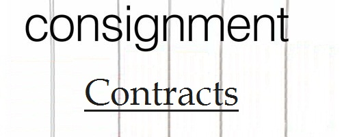 Consignment Contracts