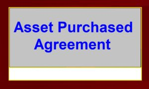 Assetpurchasedagreement